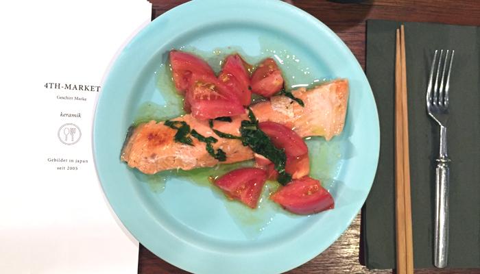 食器/スティルク 7.5プレート 水色